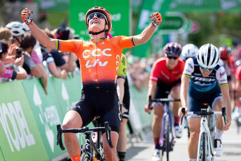 Catch up with the 2019 OVO Energy Women's Tour