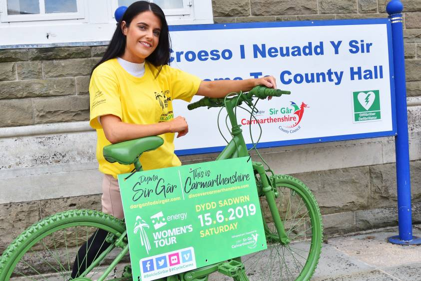 Community events across Carmarthenshire on Saturday for OVO Energy Women's Tour