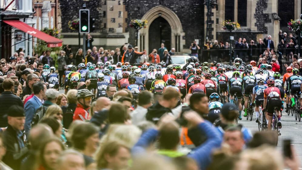 Women's Tour Route