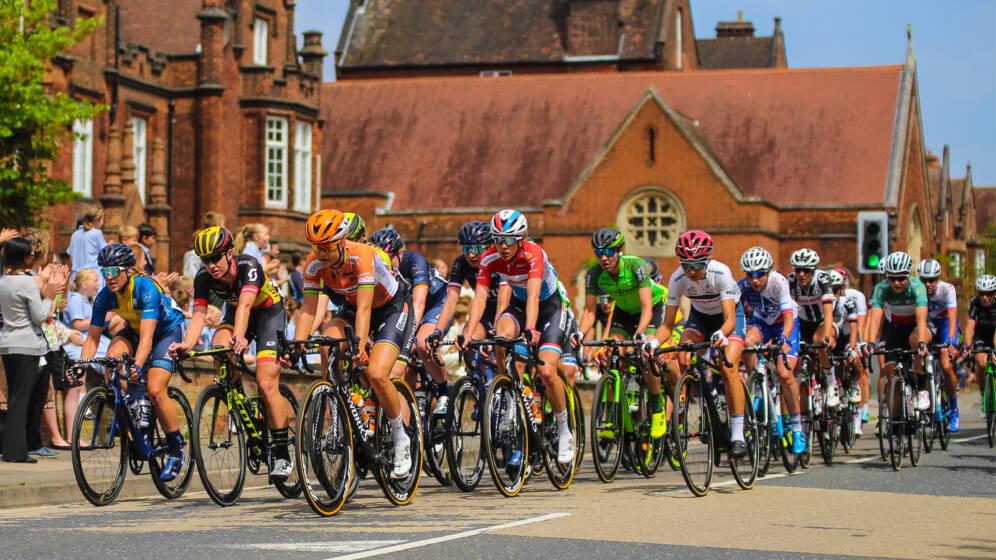 Women's Tour Suffolk route