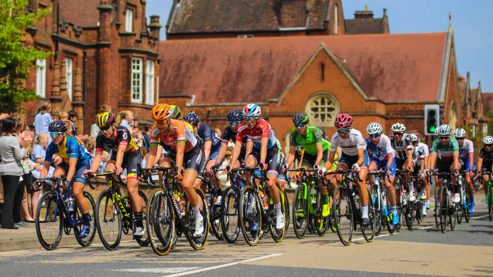 Women's Tour Suffolk route
