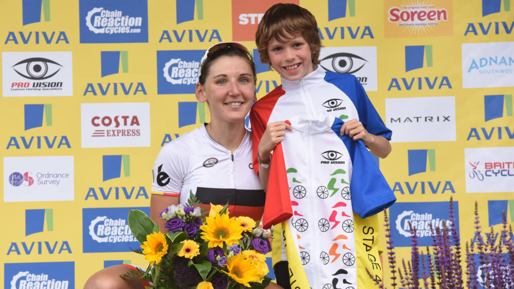 Women's Tour jersey competition