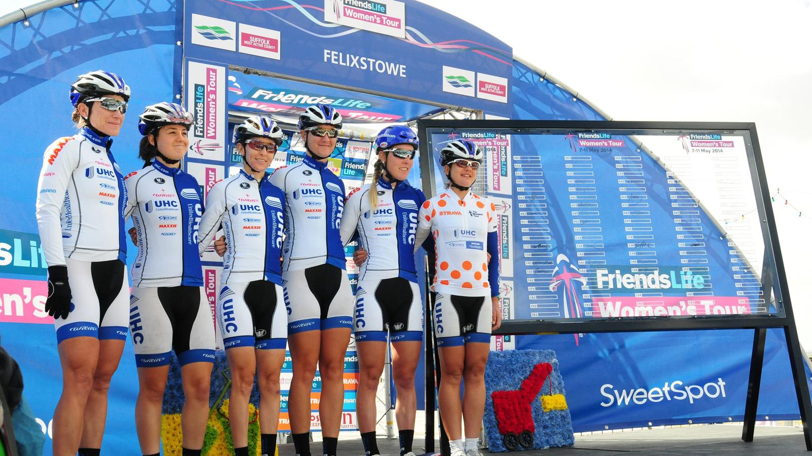 Felixstowe podium