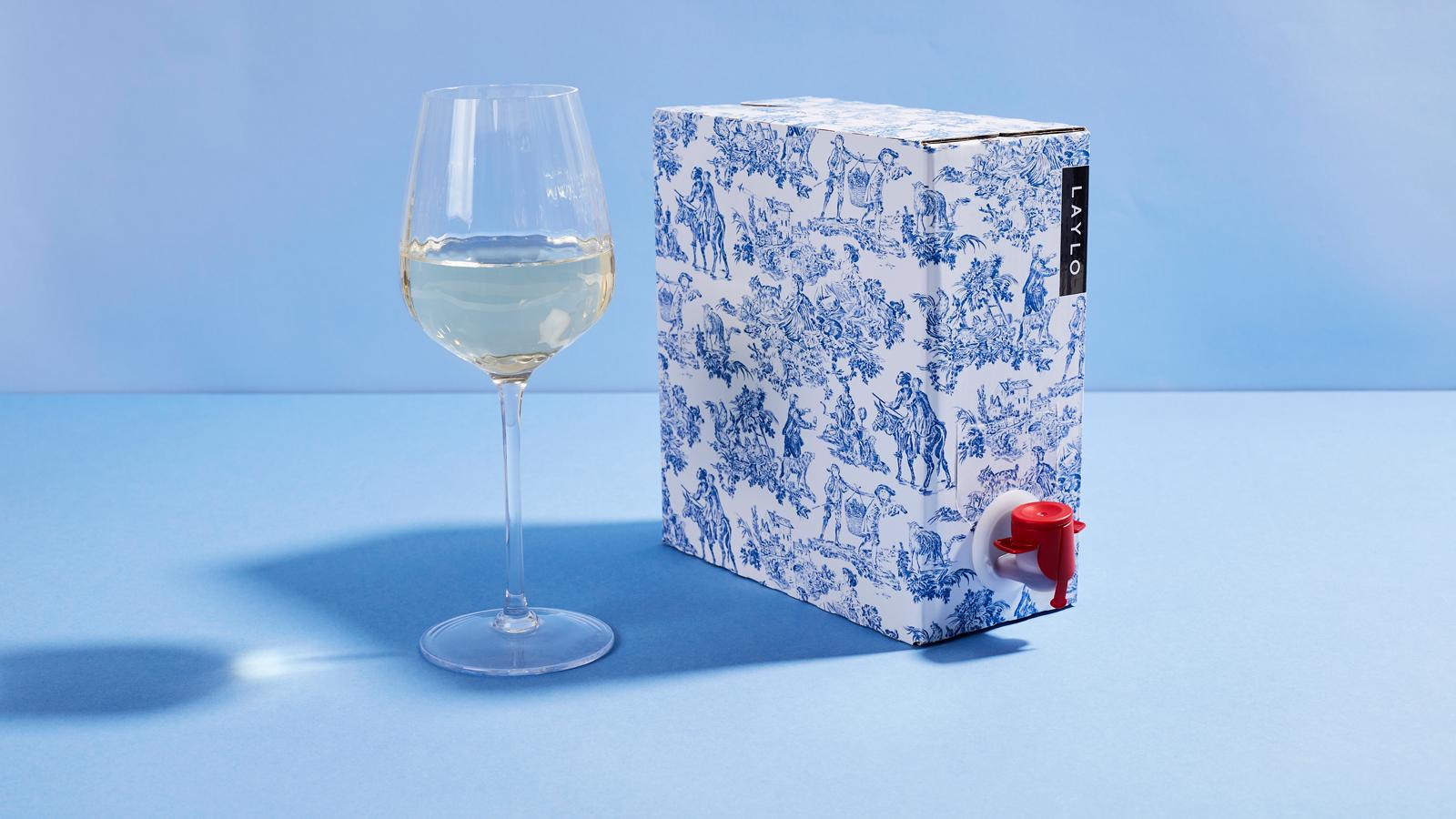 Laylo premium boxed wine