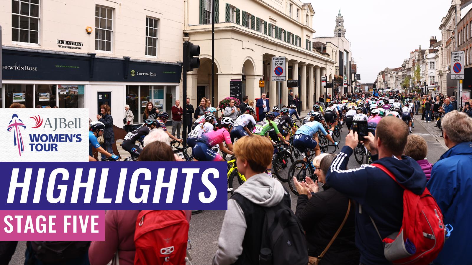 Women's Tour highlights
