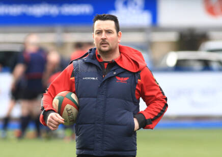 Ioan Hughes is top dog at Llanelli