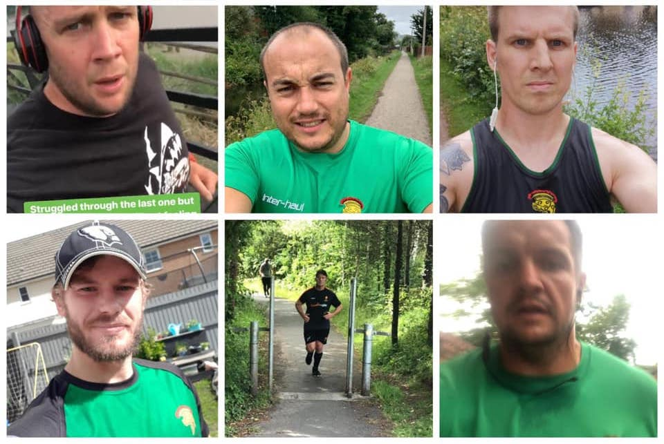 Caerleon run thousands of miles to raise thousands of pounds
