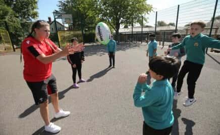 WRU Primary School Initiative