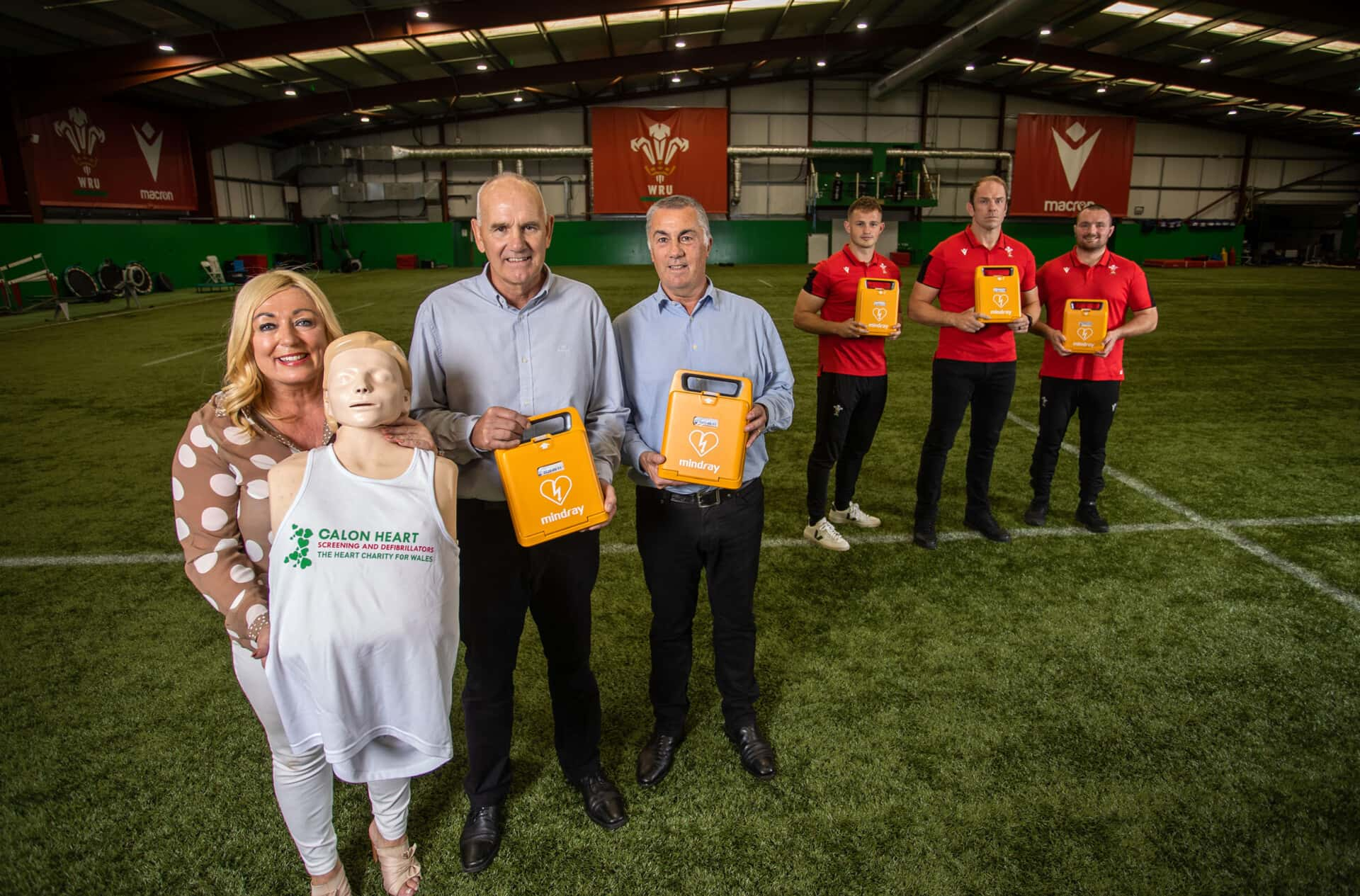 Life-saving now defibs available to ALL clubs